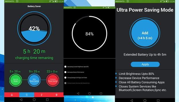 Battery Saver & Fast Cleaner apk screenshot
