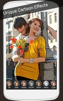 Cartoon Effect On Photo poster