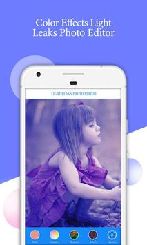 Light Leaks Photo Effects poster