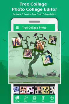 Tree Photo Collage poster