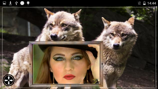 Wolf Photo Frames poster