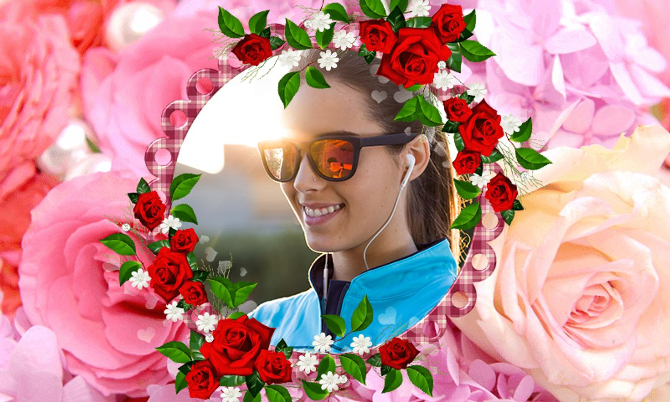 Beautiful Rose Flower Frames For Android Apk Download
