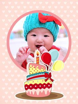 Birthday Photo Frame poster