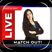 Breking News Photo Frame icon