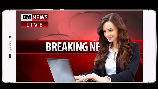 Breking News Photo Frame screenshot 7