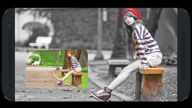 Photo Frame For Color Splash poster