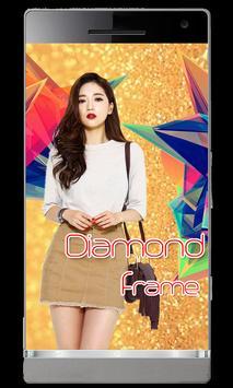 Diamond Photo Frame poster