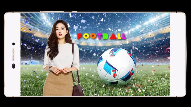 Football Photo Frame poster
