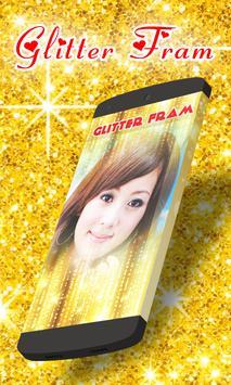 Glitter Photo Frame poster