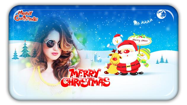 Christmas Photo Frames, Effects & Cards Art poster