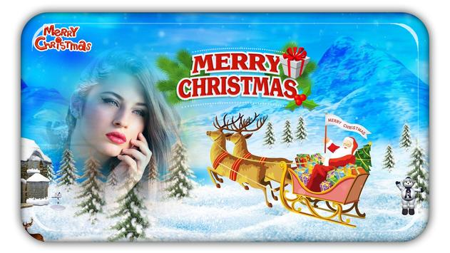 Christmas Photo Frames, Effects & Cards Art screenshot 9