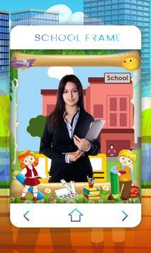 School Photo Frame screenshot 4
