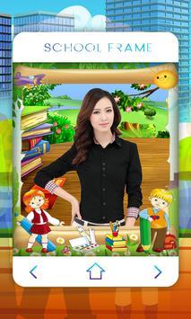 School Photo Frame screenshot 7