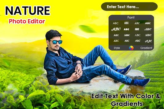Nature Photo Editor poster