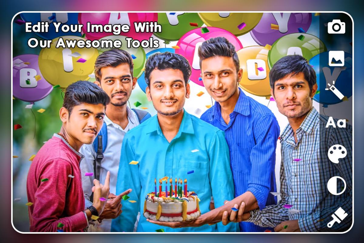 Birthday Photo Editor Screenshot 2
