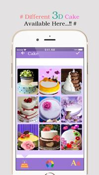3d Name On Birthday Cake apk screenshot