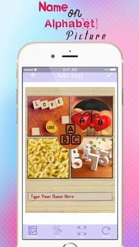 Name On Alphabet Pics apk screenshot