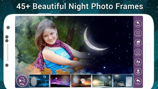 Night Photo Frame poster