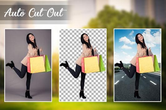 Auto Cut Paste : Photo Background Changer poster