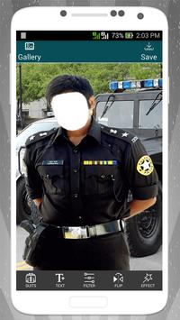 Police Suit Photo Editor screenshot 1