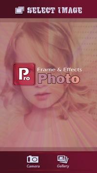 Pro Photo frames poster