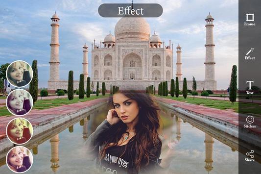 Taj Mahal Photo Frame : Seven Wonder Frame Editor apk screenshot