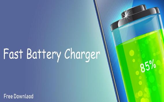New Fast Battery charger - Fast Charging poster