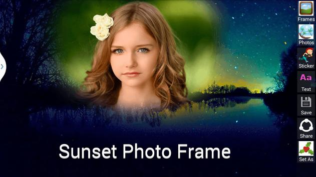 Sunset Photo Frame screenshot 1
