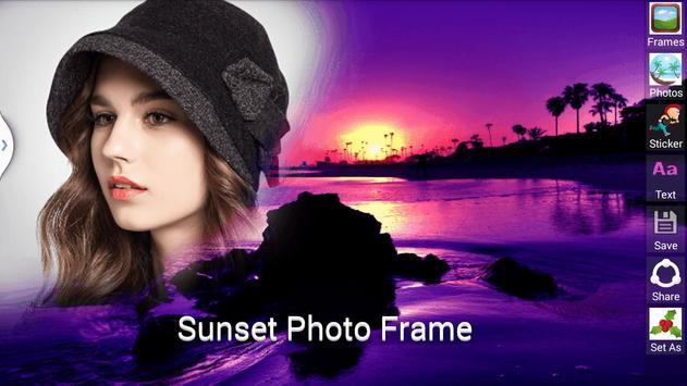 Sunset Photo Frame screenshot 5
