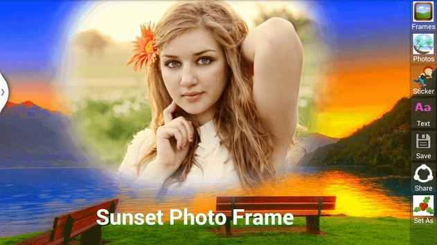 Sunset Photo Frame screenshot 6