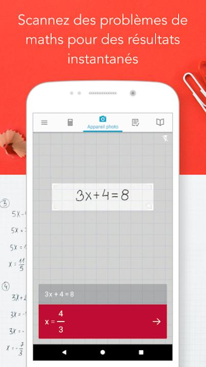 Photomath Camera Calculator Free Version For Android Apk Download