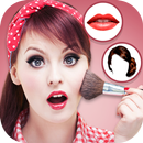 Women make up and hairstyle photo maker APK