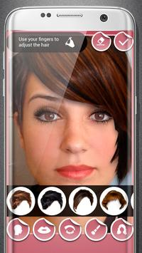 Women make up and hairstyle photo maker screenshot 6