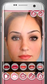 Women make up and hairstyle photo maker screenshot 9