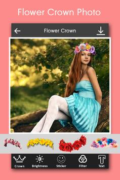 Flower Crown Photo Editor poster