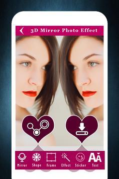3D Mirror Photo Effect apk screenshot