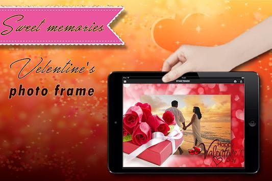 Valentine Photo Frame apk screenshot
