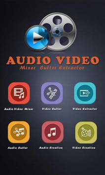 Audio Video Mixer With Music poster