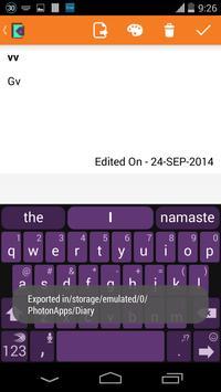 My Diary apk screenshot
