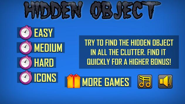 Hidden Object poster