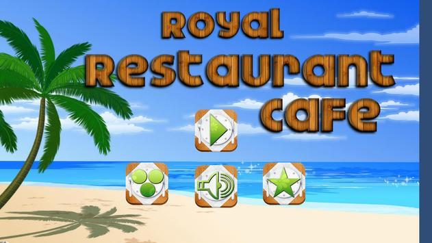 Royale Restaurant Cafe Game poster