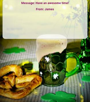St Patrick's Greeting Cards poster