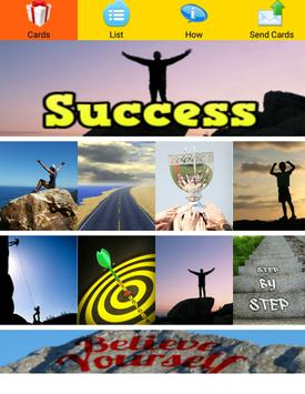 Success Greeting Cards poster