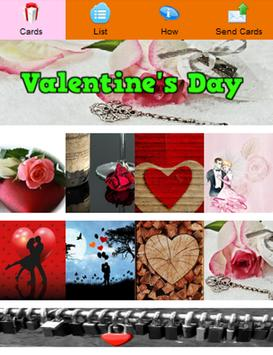 Valentine's Day Greeting Cards poster