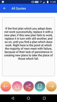 Napoleon Hill's Quotes : Best Thoughts screenshot 3