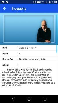 Paulo Coelho screenshot 1