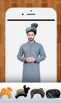 Pathan Afghan Turban Photo Editor & Changer 2018 screenshot 1