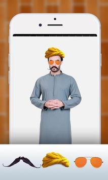 Pathan Afghan Turban Photo Editor & Changer 2018 screenshot 6