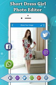 Girls Dress Photo Suit screenshot 4