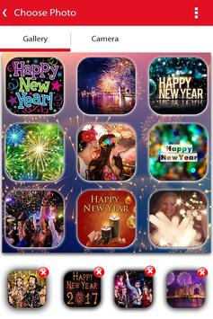 New Year Photo Video Slideshow Maker poster